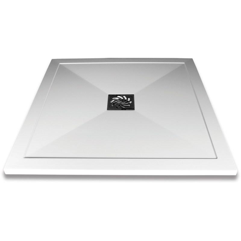 Aquaglass 900x900mm Slimline Shower Tray