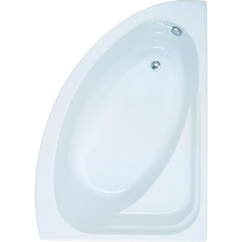 Aquabathe Orlah 1500 x 1040mm Offset Corner Tungstenite Bath RH