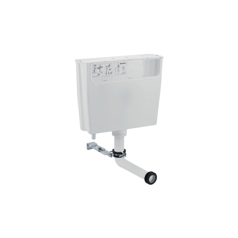 Geberit Low Height Furniture Cistern with Pneumatic Flush
