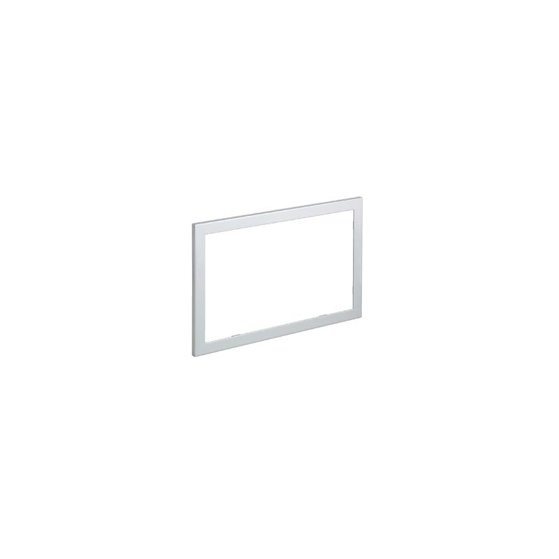 Geberit Omega60 Cover Frame for Flush Plate, Brushed Chrome