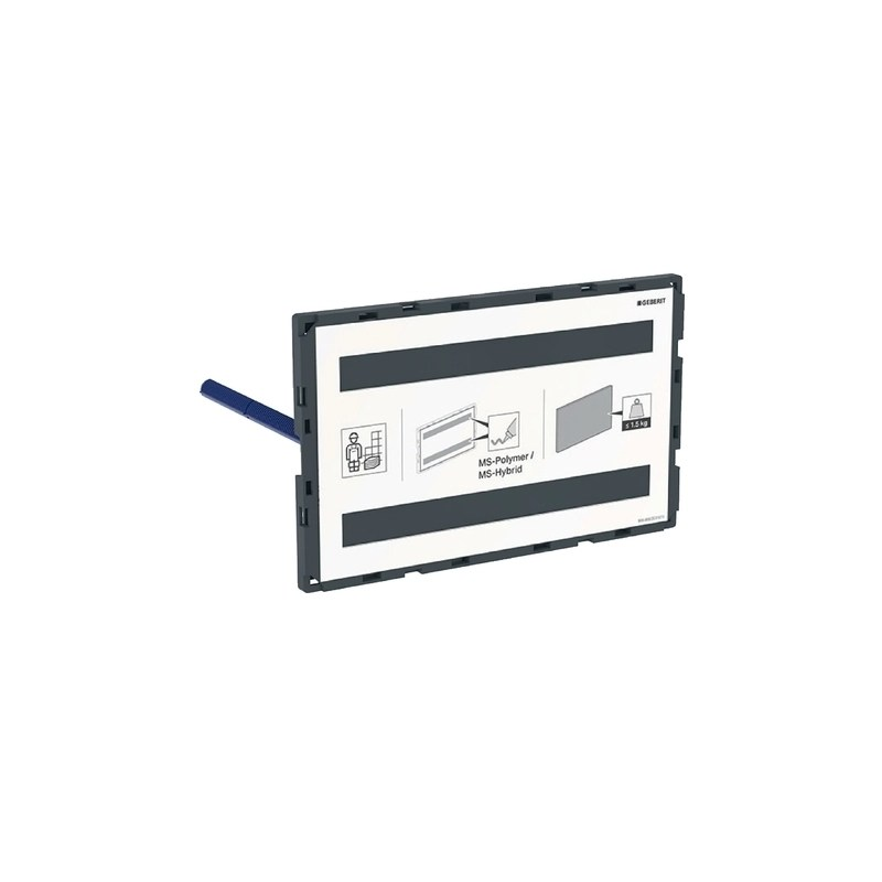 Geberit Omega Cover Plate Surface-Even, Customisation