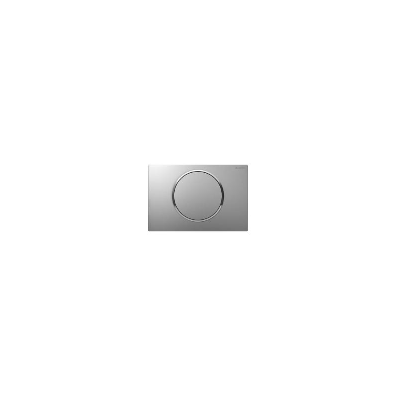 Geberit Flush Plate Sigma10 Single Flush Matt / Bright Chrome