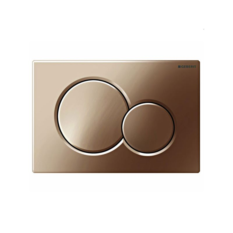 Geberit Flush Plate Sigma01 Dual Flush, Brass