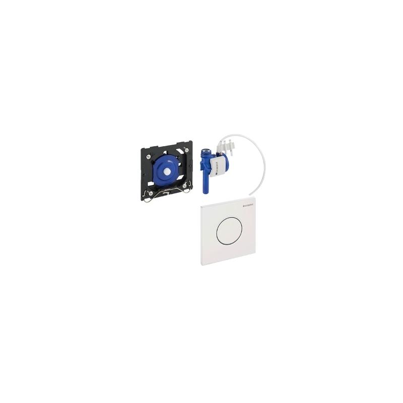 Geberit Urinal Flush Control Pneumatic Sigma01, Matt Chrome