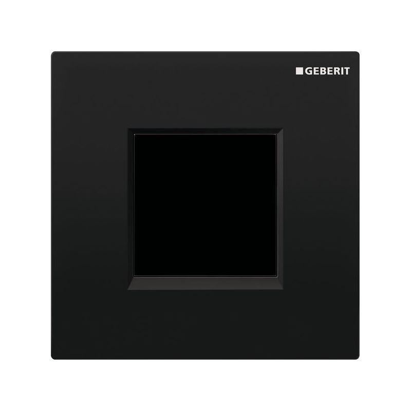 Geberit Sigma30 Urinal Flush Electronic Mains Black/Chrome
