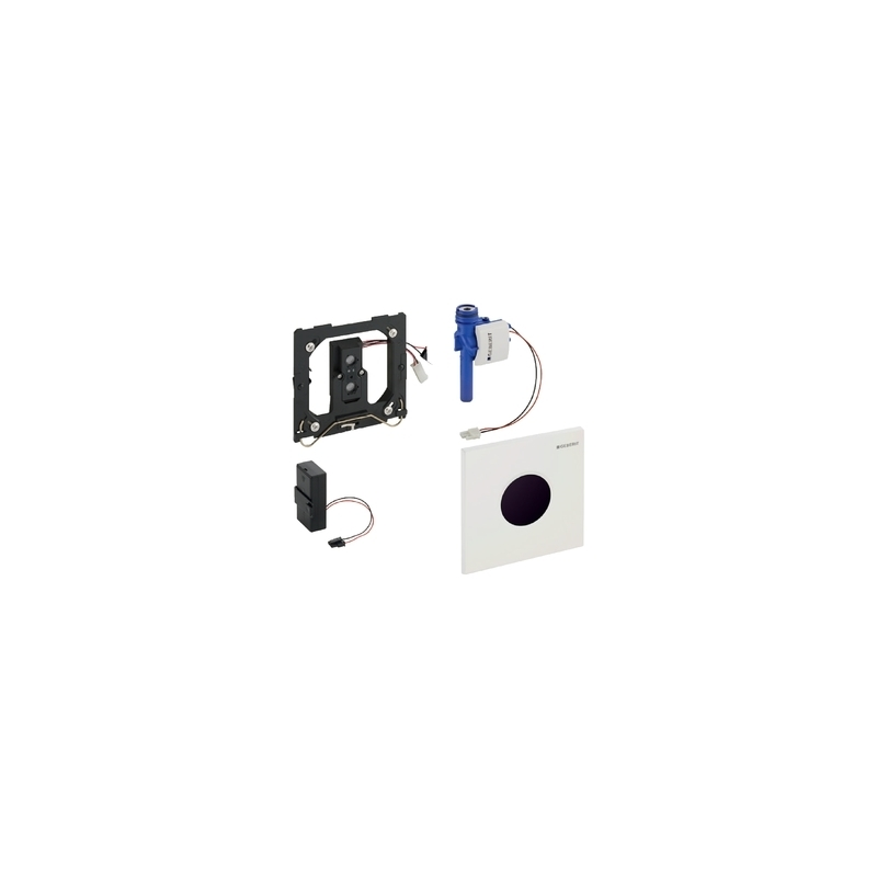 Geberit Urinal Flush Control Battery Sigma01, White Alpine