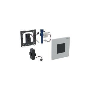 Geberit Sigma30 Urinal Flush Battery Brushed/Gloss/Brushed