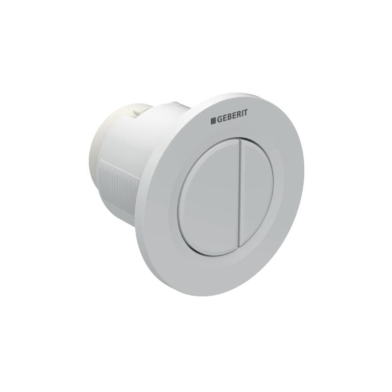 Geberit Dual Flush Button White Alpine Type 01 for 12/15cm