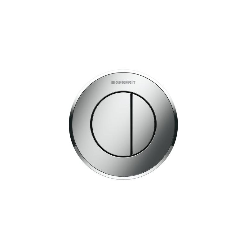 Geberit Dual Flush Button Type 10 12/15cm Gloss/Matt/Gloss