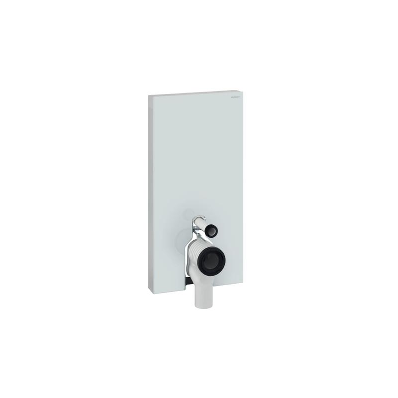 Geberit Monolith Plus Floor Standing WC 101cm White Glass
