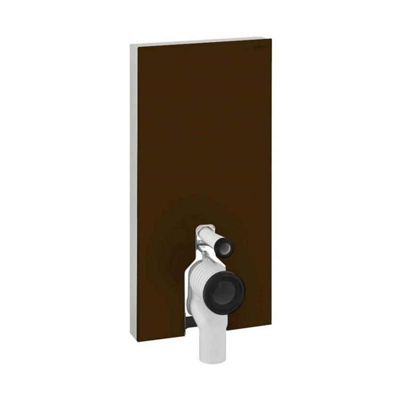 Geberit Monolith Plus Floor Standing WC 101cm Umber Glass