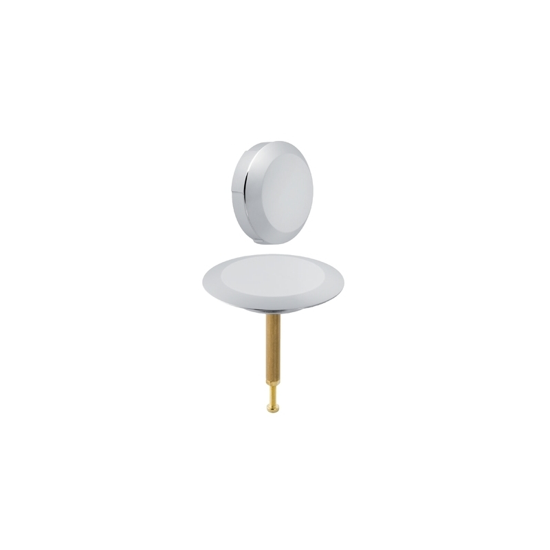 Geberit Ready-To-Fit Set for Bathtub Drain with Handle Chrome