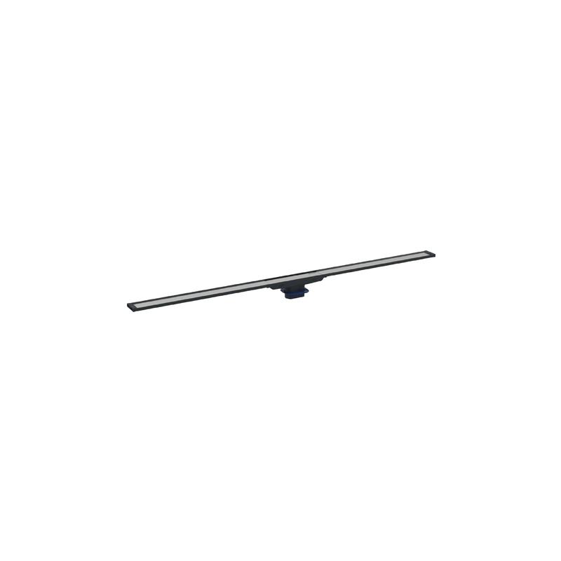 Geberit Shower Channel CleanLine20 90cm Dark/Brushed Metal