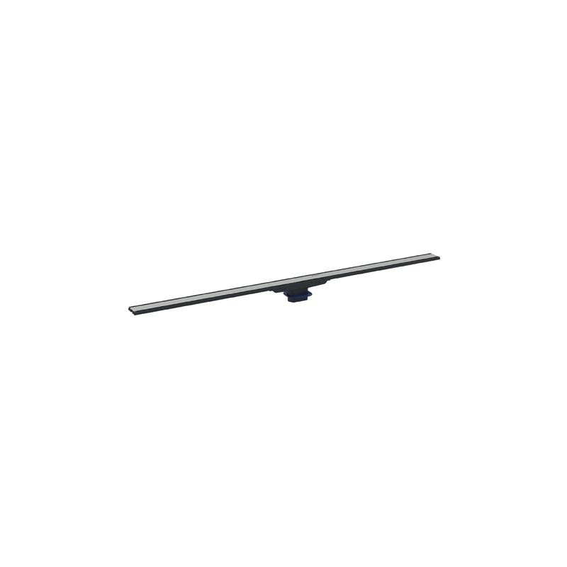 Geberit Shower Channel CleanLine60 90cm Dark/Brushed Metal