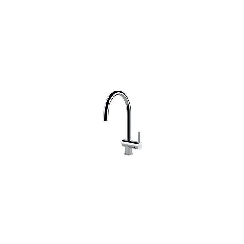Gessi Oxygen Swan Sink Mixer Chrome