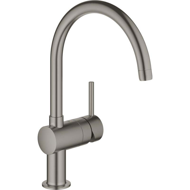 Grohe Minta Kitchen Sink Mixer 32917 Brushed Graphite