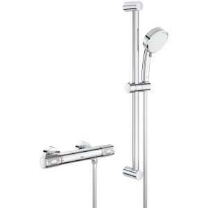 Grohe Grohtherm 1000 Performance Shower Mixer with Kit 34787