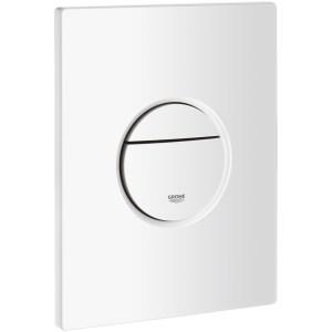 Grohe Nova Cosmopolitan Dual Flush Plate Alpine White