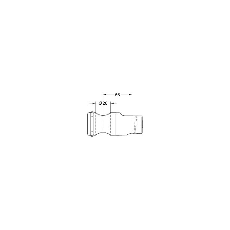 Grohe Relexa Plus Gliding Element with Metal Sleeve 12435