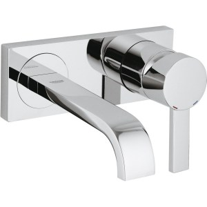 Grohe Allure Wall Mounted 2-Hole Basin Mixer Small 19309