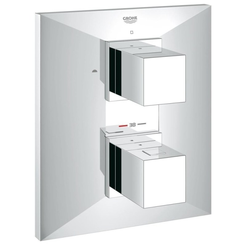 Grohe Allure Brilliant Thermostat with 2-Way Diverter 19792