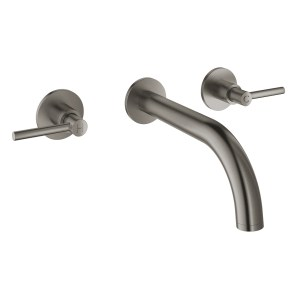 Grohe Atrio Wall Basin Mixer S Size 20169 Brushed Graphite
