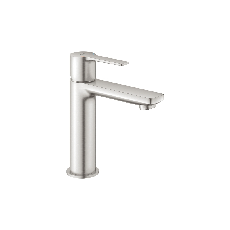 Grohe Lineare Basin Mixer Tap S-Size 23106 Supersteel