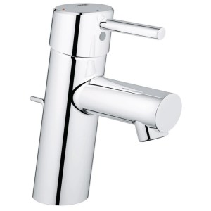 """Grohe Concetto Basin Mixer with Pop-Up Waste 1/2"""" Small 23380"""