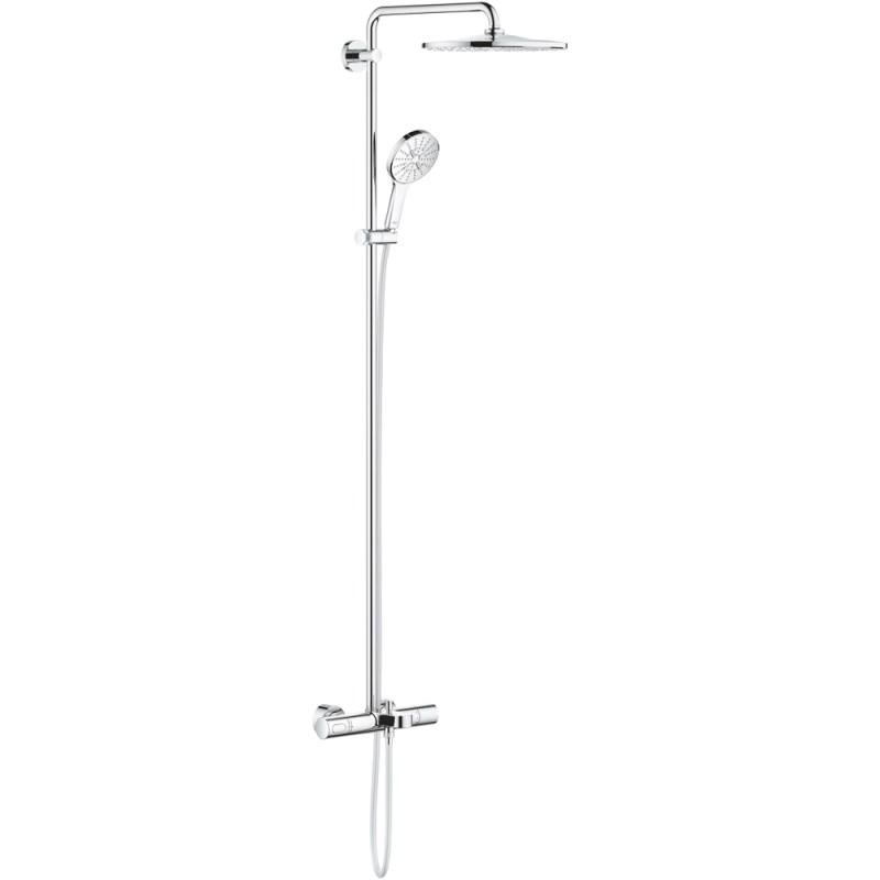 Grohe Rainshower Smartactive 310 Wall Bath Shower System 26657