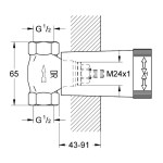 """Grohe Concealed Valve 1/2"""" 29032"""