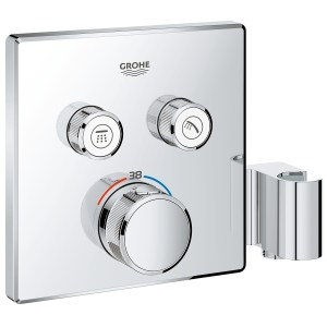 Grohe Smartcontrol Thermostat with 2 Valves & Holder 29125