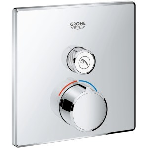 Grohe Smartcontrol Concealed Manual Mixer Trim 29147 Chrome