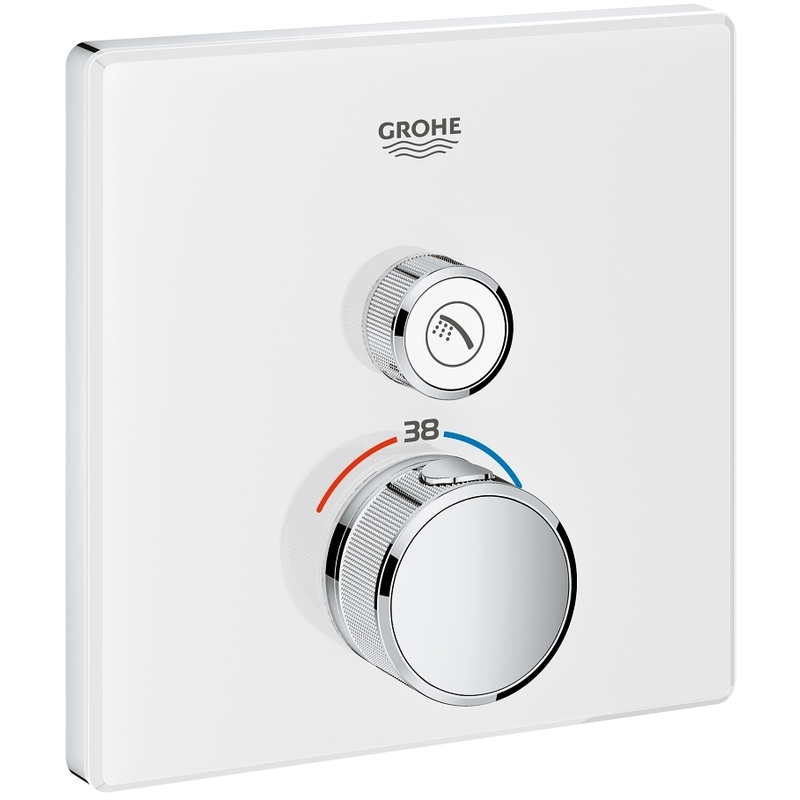 Grohe Smartcontrol Thermostat with One Valve 29153 Moon White