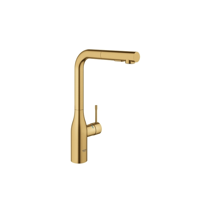 Grohe Essence Kitchen Sink Mixer Tap 30270 Brushed Cool Sunrise
