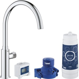 Grohe Blue Pure Filter Mono Tap Starter Kit 30387