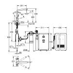 Grohe Blue Minta Professional Starter Kit 31347 Supersteel