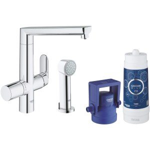 Grohe Blue K7 Pure Starter Kit with Side Spray 31354