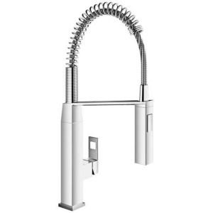 "Grohe Eurocube Sink Mixer 1/2"" 31395 Chrome"