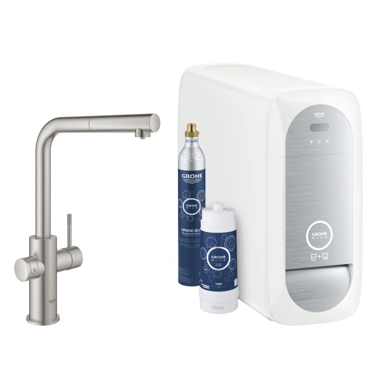 Grohe Blue Home L-Spout 31539 Supersteel
