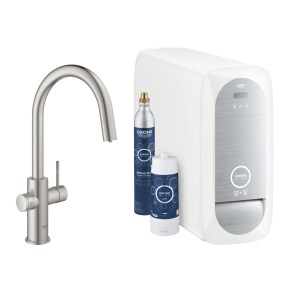 Grohe Blue Home C-Spout 31541 Supersteel