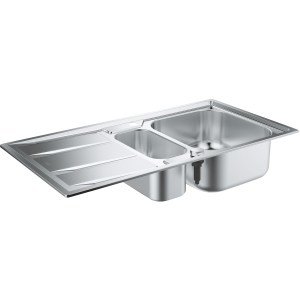 Grohe K400 Stainless Steel Sink with Drainer 31567