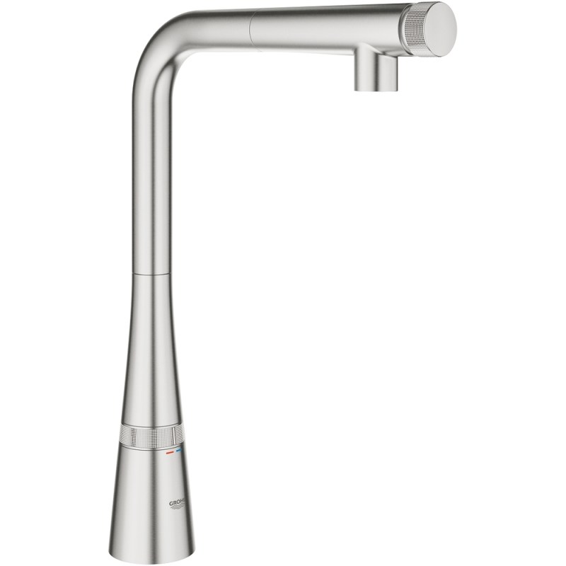 Grohe Zedra SmartControl Sink Mixer 31593 Supersteel