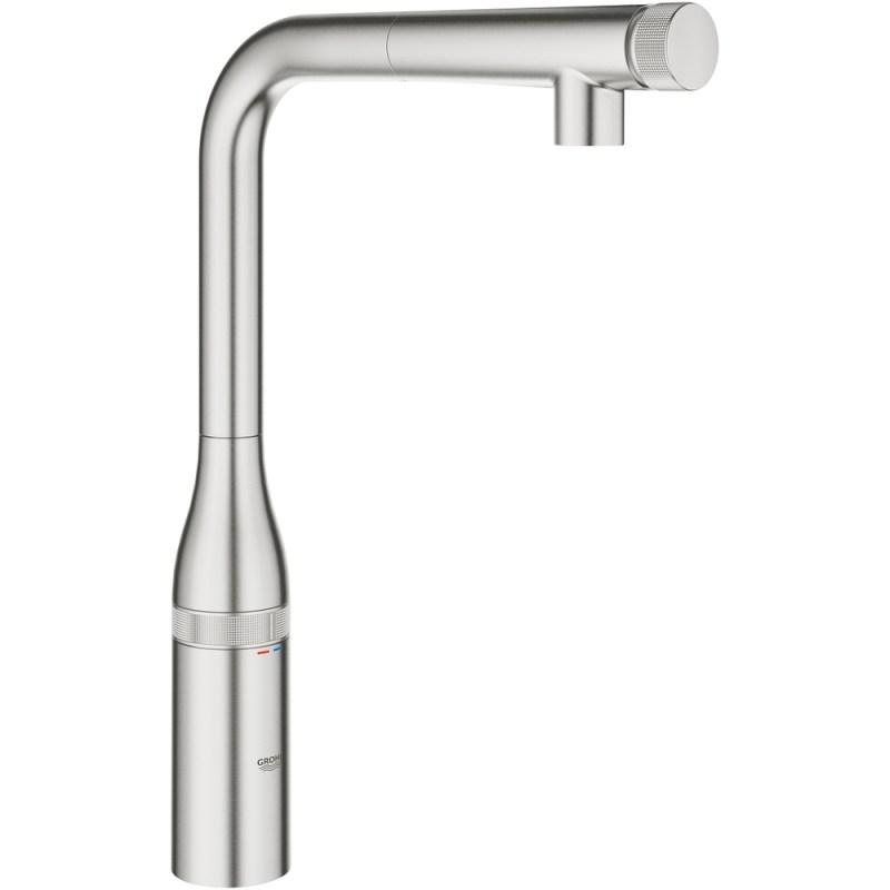 Grohe Essence SmartControl Sink Mixer 31615 Supersteel