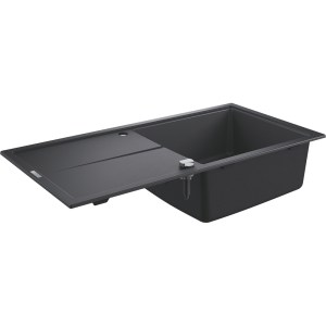 Grohe K400 60-C 100/50 1.0 Rev Sink with Drainer 31641 Black