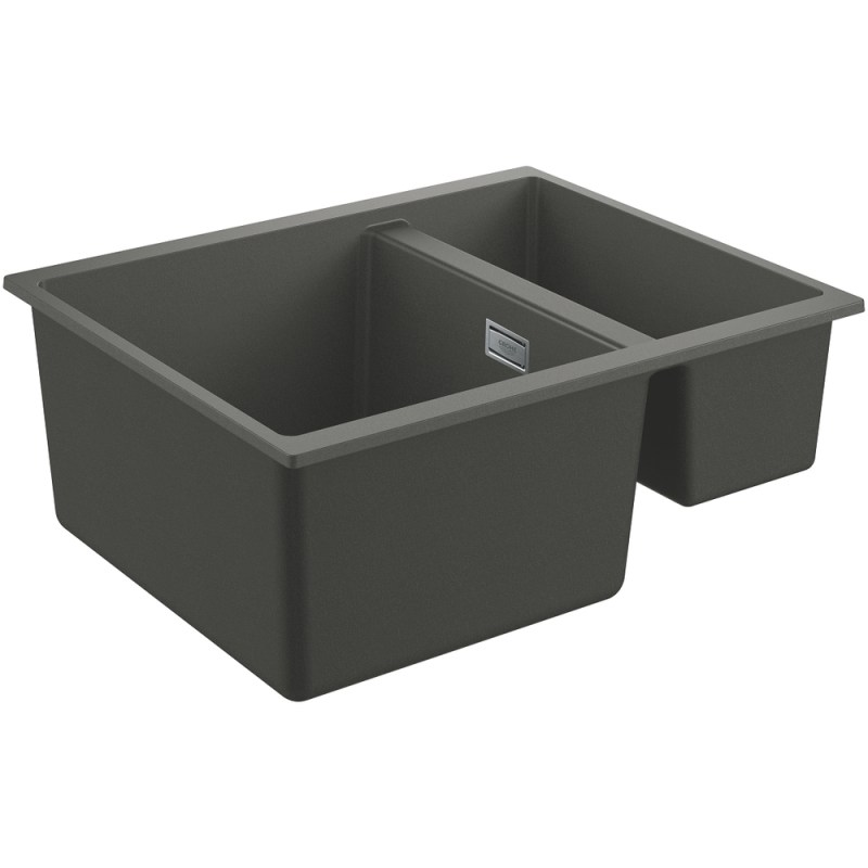 Grohe K500 60-C 55.5/46 1.5 Rev Sink with Drainer 31648 Gray