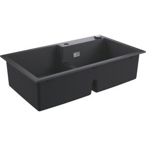 Grohe K500 90-C 86/50 2.0 Rev Sink with Drainer 31649 Black