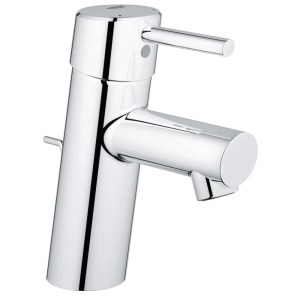 """Grohe Concetto Basin Mixer with Pop-Up Waste 1/2"""" Small 32202"""