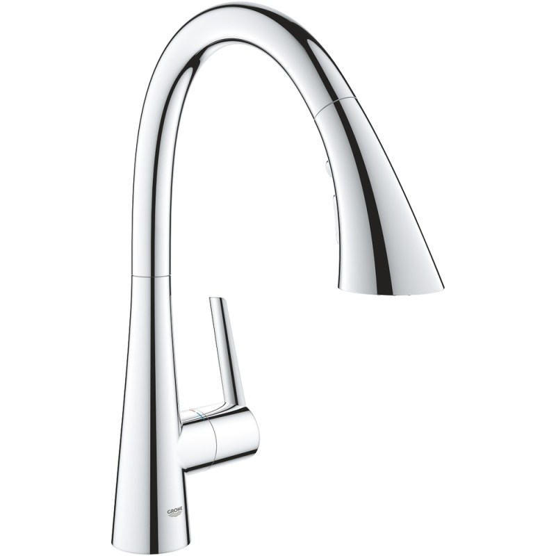 Grohe Zedra C Spout Sink Mixer with Pullout Spray 32294
