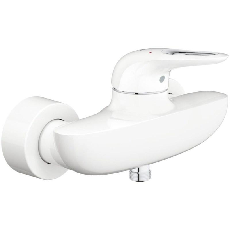 "Grohe Eurostyle Single-Lever Shower Mixer 1/2"" 33590 White"