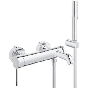 "Grohe Essence Single-Lever Bath/Shower Mixer 1/2"" 33628 Chrome"